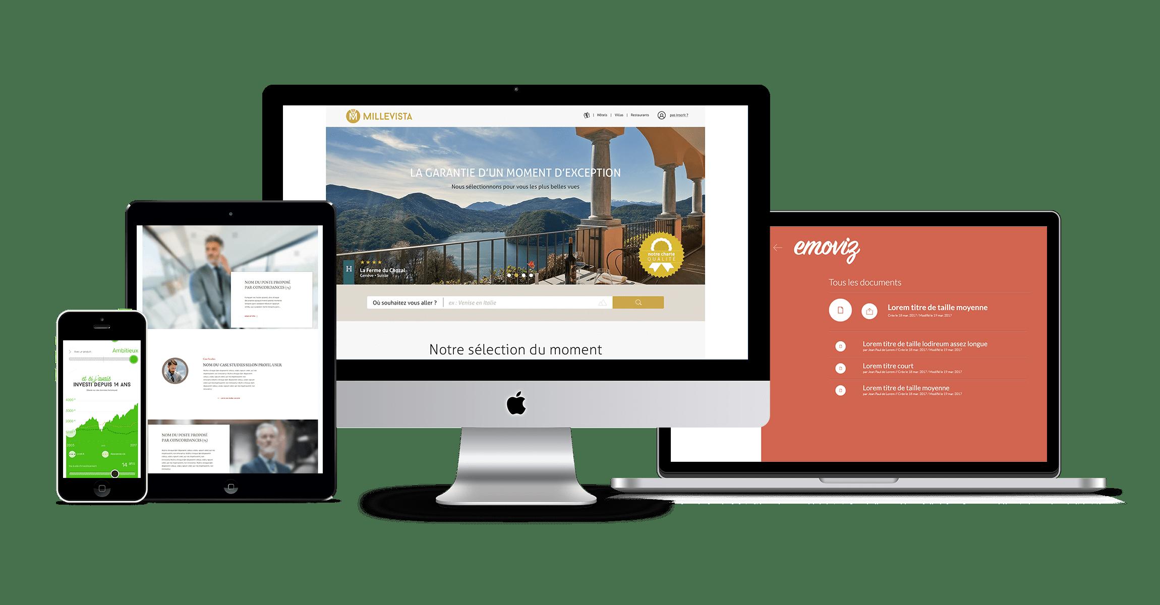 De la conception à la mise en lignede votre site web